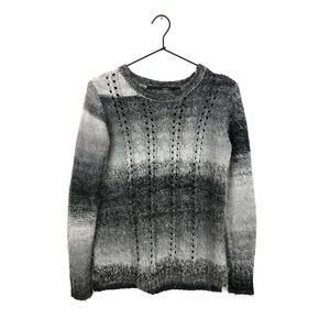 Kensie Cable Knit Pullover Sweater